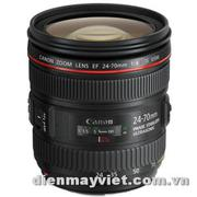 Canon EF 24-70mm f/4.0L IS USM Standard Zoom Lens USA     Mfr# 6313B002