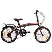 Xe đạp gấp fornix - FB2007-ESE14milan - Đen