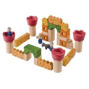 Khối Gỗ Xếp Hình Plan Toys - Lâu Đài Kị Sĩ Pl5651