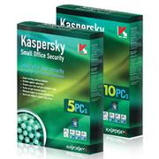 PM diệt virut Kaspersky Small Office Security(1Ser+10PC) Small Office Security