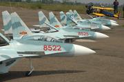 Máy bay cánh bằng Su 27 (kit onlty)