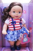 Búp bê Little Mommy tóc dài đen (Girly Sport) (36cm)