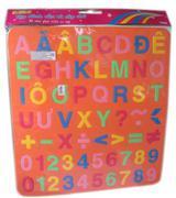 Chữ Số Lớn In Kid Kit - DCTT001