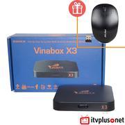 VinaBox X3 - Android Box mới nhất chạy Android 6.0, chip lõi tứ RAM 1G
