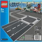 Đường thẳng và giao lộ Lego City (7280)