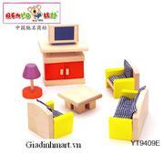 Bộ mô hình phòng khách YT9409E