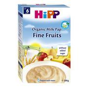 Bột ăn dặm hoa quả tổng hợp hương táo, chuối, lê, mơ HiPP