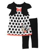Disney Baby Girls´ Minnie 2 Piece Tunic and Legging Set