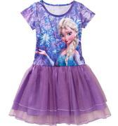 Disney-Frozen-Girls-Printed-Tutu-Dress size 7/8 và 10/12