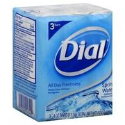 DIAL ANTIOXIDANT BAR SOAP - SPRING WATER (3PCS)
