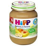Dinh dưỡng đóng lọ HiPP chuối, mơ (125g)
