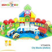 Bộ lắp ráp mô hình thành phố Benho [YT5487]