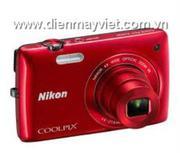 Máy ảnh Nikon Coolpix S4300 Đỏ