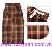Váy chống nắng phối sọc sành điệu mVCN10