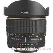 Bower SLY 358N 8mm f/3.5 Fisheye Lens For Nikon APS-C Cameras     Mfr# SLY358N