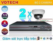 BỘ 2 CAMERA IP VDTECH DK-VDP2210H