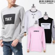 [Nhiều lựa chọn] Áo T-shirt nam cổ tròn tay dài in chữ thời trang NUVIIS - 1753930