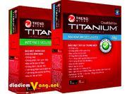 Phần Mềm Diệt Virus Trend Micro Titanium Internet Security 2012 –  Chỉ với 55.000đ, Giảm
