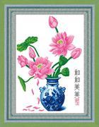 Bình hoa sen
