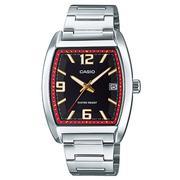 Đồng hồ nam dây thép không gỉ Casio MTP-E107D-7ADF (Bạc)