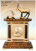 Đồng hồ treo tường chế tác tại Italy-Big table clock tiger eye W/2 Oryx