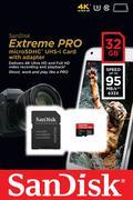 Thẻ nhớ Sandisk Micro SDHC 32GB 95/90MB/s