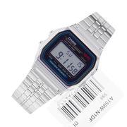 Đồng hồ nam dây thép không gỉ Casio A159W-N1DF (Bạc)