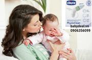 Hút mũi Chicco với thiết kế mềm mại là công cụ hữu hiệu giúp mẹ nhanh chóng  giải quyết tình trạng t...