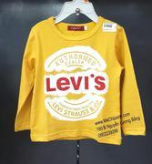 Áo dài tay Levis Việt Nam size từ 1 tuổi đến 5 tuổi