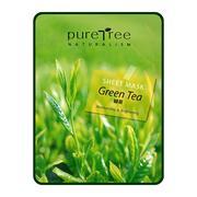 Mặt nạ trà xanh Puretree Greentea Sheet Mask 20g