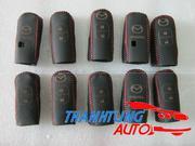 Bao da bọc chìa khóa cao cấp khâu tay cho xe Mazda CX5