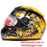 Mũ bảo hiểm chất lượng cao LS2-FF350, chống chói, chống đọng nước, sương mù tiêu chuẩn Mỹ, châu Âu