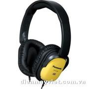 Tai nghe Panasonic RP-HC200 Noise Canceling Around-Ear Stereo Headphones (Yellow)