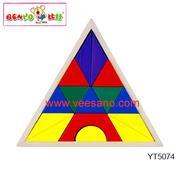 Bộ ghép hình tam giác Benho [YT5074]