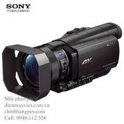 Máy quay Sony FDR-AX100 4K Ultra HD