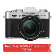 Máy ảnh Mirrorless Fujifilm X-T10 kit 18-55mm (Bạc)