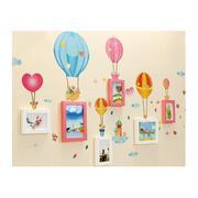 Bộ khung ảnh treo tường khinh khí cầu BinBin KA28 (Nhiều màu)