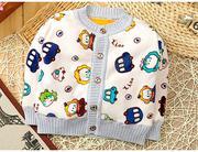 Áo nỉ lót bông phong cách Hàn Quốc ( bé 1-3 tuổi )
