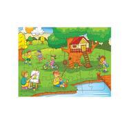 CÔNG VIÊN NHỘN NHỊP Puzzle A4-098
