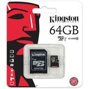 Thẻ nhớ Kingston 64GB microSDXC Memory Card Class 10