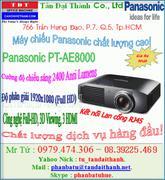 Máy chiếu, Panasonic PT-AE8000, Full HD, 3D View- Ưu đãi lớn