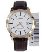 Đồng hồ nam dây da Casio LTP-V004GL-7AUDF (Nâu)                ...
