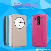 Bao Da LG G4 ( Hiệu NillKin, Sparkle Leather Case )