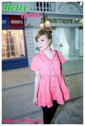 Áo bầu Hàn Quốc công sở rât xinh màu xanh và hồng DB253