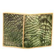 Bóp Da Nam Cá Sấu Hoa Cà  10391