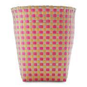 Sọt rác đan tròn Sovaco SV - 0082/PP (Nhiều màu)
