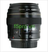 Lens Canon EF 85mm F1.8 USM