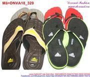 Dép kẹp nam in hình bàn chân siêu bền DNVA18