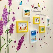 Bộ khung ảnh treo tường hoa lavender BinBin KA22 (Nhiều màu)