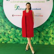 Set Đầm Và Áo Khoác Sang Trọng  - Đỏ 2583D Gmess